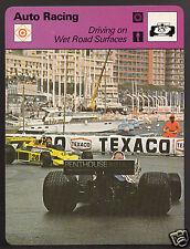 1977 MONACO GRAND PRIX Rupert Keegan Photo Auto Racing 1978 SPORTSCASTER CARD