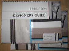 DESIGNERS GUILD Housewife Pillowcase Pair SKANSEN BLUE New