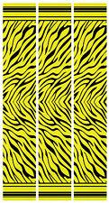 "15 - 6x1"" Zebra Stripes on Fluoro Yellow Arrow Wraps"