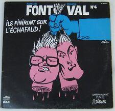 Cabu 33 tours Font et Val 1980