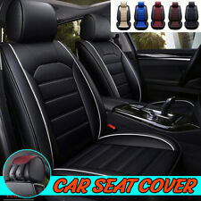 Universal Car Seat Covers PU Leather Breathable Cushion Pad Front Seat Protector