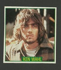 Ken Wahl Film Actor - Rare Card from Germany TV Wiseguy