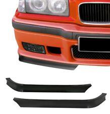 Spoilerecken Frontspoiler Spoiler Flaps Extra BREITE / TIEFE VERSION für BMW E36