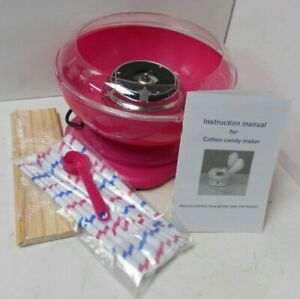 Pretty Pink Pink Candy Floss Maker NEW Not tested F17