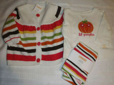 GYMBOREE 3-6 Month Fall for Autumn Leggings Sweater Shirt Outfit NWT