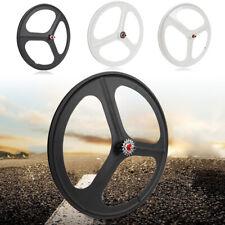 Fixed Gear Mag Wheels 700c Rims 3 Spoke Front&Rear Fixie Bike Single Speed New