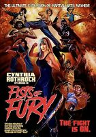 Fists of Fury DVD, Hosted by Cynthia Rothrock