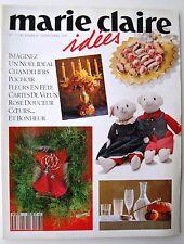 revue MARIE-CLAIRE IDEES n° 7 - décembre 1992