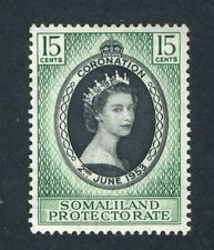 Mint Never Hinged/MNH British Protectorate Postage Stamps