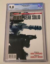 Metal Gear Solid #1 CGC 9.8 NM/MINT Movie Announced KEY IDW Video Game Comic