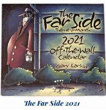 Far Side 2021 Calendar Daily Desk New in Box Humor Collectible The Far Side