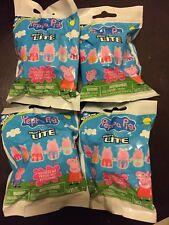 4 Unopened Peppa Pig Micro Lite Blind Bags Mashem Fashem