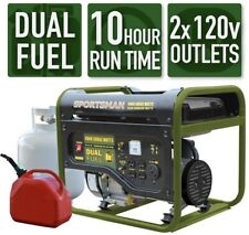 Sportsman Portable Generator 4000/3500-W Dual Fuel Powered LPG/Regular Gasoline