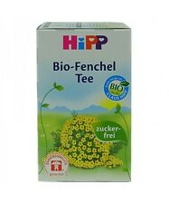 HiPP ORGANIC Fennel tea for babies -20 tea bags-Made in Germany