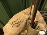 "J.B. Walker ""Walkers Gem"" 8,1ft Fliegenrute Splitcane Bambus gespließt ca. 1935"