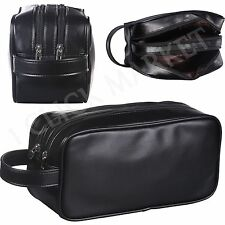 Leather Toiletry Bag Man Shaving Accessory Lady Supply Travel Organizer  Dopp Kit d93d3e6ece