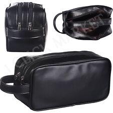Leather Toiletry Bag Man Shaving Accessory Lady Supply Travel Organizer Dopp Kit