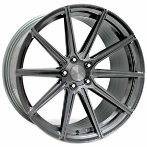 """20"""" Stance SF09 Grey 20x9 Concave Forged Wheels Rims Fits Volkswagen Passat"""
