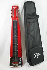 Rogue RLS-1 Lap Steel Electric Guitar w/Stand & Bag- Red - LEG ISSUES   #R8350