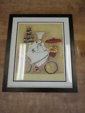 Framed Art Print Jennifer Garant Chefs To Go 22X26 Prof Matted & Framed
