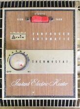 Vintage Arvin Electric Space Heater 1650 Watt Fan Forced Automatic Instant Heat