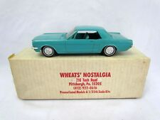 Vintage 1965 Ford Mustang Blue Dealer Promo 1/25 Scale Promotional AMT Model
