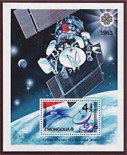 MONGOLIE BLOC N°96** Bf  Espace,  TB, 1983 MONGOLIA Space SHEET MNH