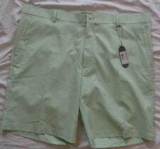 NEW! PETER MILLAR Golf Shorts Moisture Wicking Seersucker Mens 40 Green NWT! $95