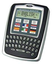 6 Language Travel Translator Clock/Calendar Calculator/Currency Converter Xmas