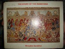 INDIA - HINDU RELIGIOUS THE STORY OF THE RAMAYANA - MRINALINI SARABHAI 1979 P.30