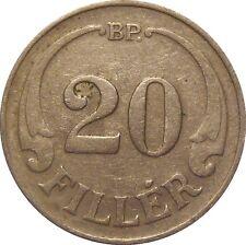 Hungary 20 Filler 1926 BP KM#508 - MAGYAR KIRÁLYSÁG (H-15)
