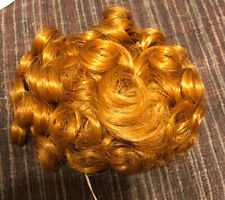 """Doll Wig Style Heather Size 5""""-6� Color Carrot Red Modacrylic By Playhouse Nos"""