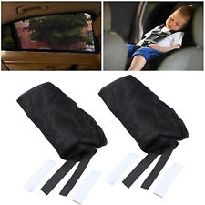 2x Auto Pkw universal Sonnenblende SUV Seitenfenster Baby Kinder Sonnenschutz