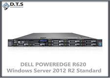 Dell PowerEdge R620 Server E5-2670 2.6Ghz Microsoft windows server 2012 R2 std