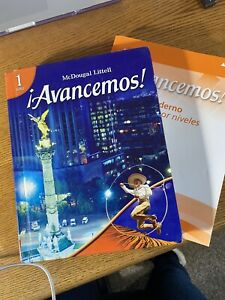 Avancemos 1 Textbook & Workbook McDougal Littel