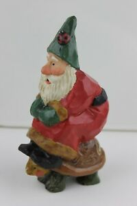 One 1999 House of Hatten Susan Smith design and signed Santa on turtle ornament