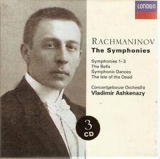 Rachmaninov - The Symphonies, 1 - 3 (3xCD Boxset 1999) Vladimir Ashkenazy
