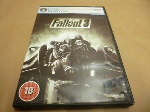 PC game For windows Fallout 3,