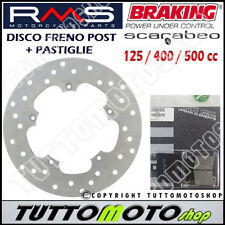 KIT DISCO FRENO POSTERIORE + PASTIGLIE APRILIA SCARABEO 400 LIGHT 2006 - 2009