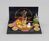 """9911023 Reutter Casa de Muñecas Miniatura """"Käsevesper"""""""