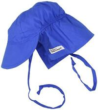 Flap Happy Flap Hat With Ties, Royal, Small