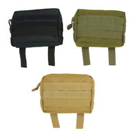 Tactical Backpack Shoulder Strap Bag Pouch Molle Tools Camping Hunting Accessory