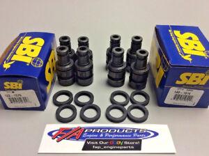 Ford Flathead V8 + 2N 8N 9N Valve Guide + Seal Set Of 8 SBI 140-1614 122-1376