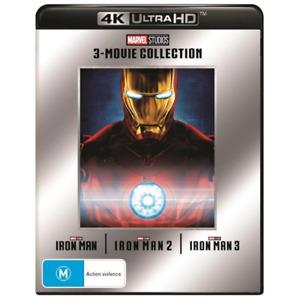 Iron Man 3-Movie Collection 4K Box Set