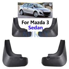 FRONT REAR  MUD FLAPS FIT FOR MAZDA 3 BL SEDAN 2009-2013 MUDFLAP SPLASH GUARDS