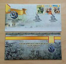 2010 Malaysia Grand Knight of Valour 3v Stamps on FDC (Kuala Lumpur Cachet)