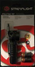 Streamlight Polytac 90 LED - Black LED Flashlight - New In Original Package