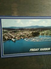 WASHINGTON STATE FERRIES FRIDAY HARBOR WASHINGTON POST CARD THE SAN JUAN ISLANDS