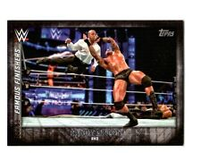 WWE Randy Orton FF-7 2015 Topps Undisputed Black Parallel Card SN 91 of 99