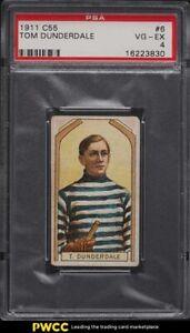 1911 C55 Hockey Tom Dunderdale #6 PSA 4 VGEX